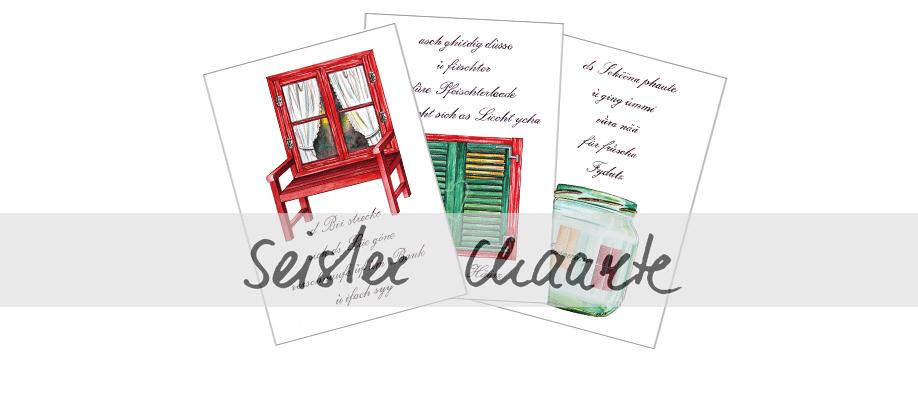 Sensler Karten: 3er Set